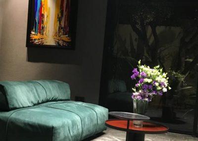 Villa S - salon vert