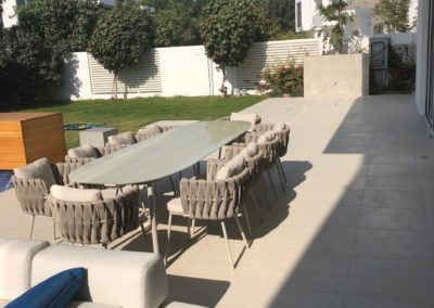 Villa The pearl Dubai - outdoor dining room