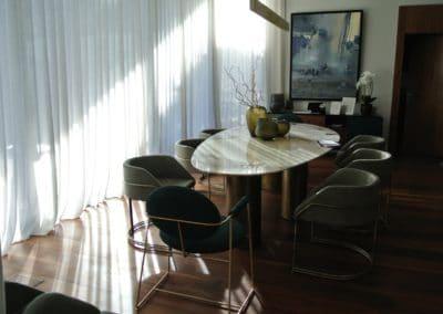 Villa E - salle à manger