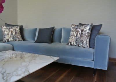 Villa S - salon bleu