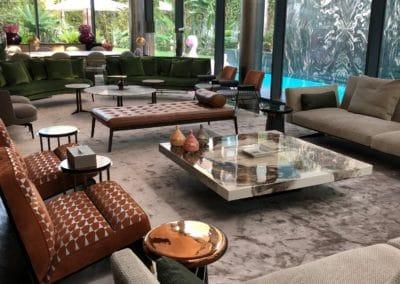 Villa Y - salon vert